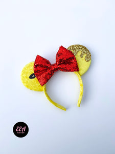 Ears Ever After, Disney Ears, Minnie Mouse Ears, Mickey Ears, Custom Mickey Ears, Mouse Ears, UK Disney Ears, Minnie Ears, Mickey Ears, Disney, Winnie the Pooh Ears, Winnie the Pooh, Hunny Ears