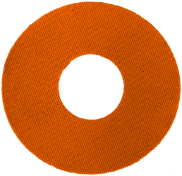 Freestyle Libre sensor / I-Port plaster - cirkel (orange)