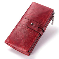2018 Genuine Leather Womens Wallet