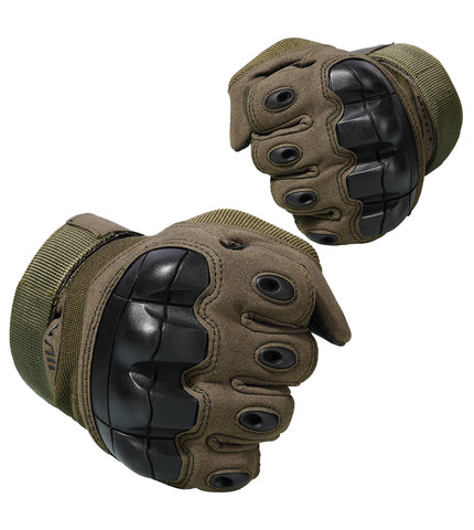 Full Finger Gloves, Hard Knuckle, Full Finger Gloves