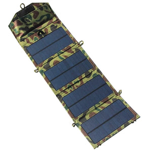 Foldable Solar Charger, Waterproof, ideal for Hiking and Camping