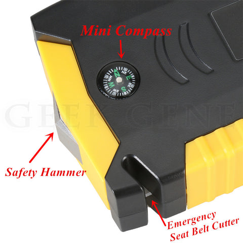 Super Power Car Jump Starter, Portable Car Battery Booster/Charger 12V Starting Petrol Diesel Cars