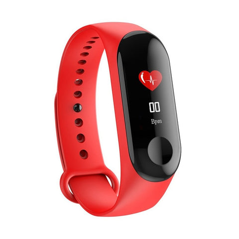 Fitness Bracelet SMART M3,Outdoor ,Waterproof, Heart Rate Blood Pressure Monitor