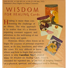Load image into Gallery viewer, Wisdom for Healing cards