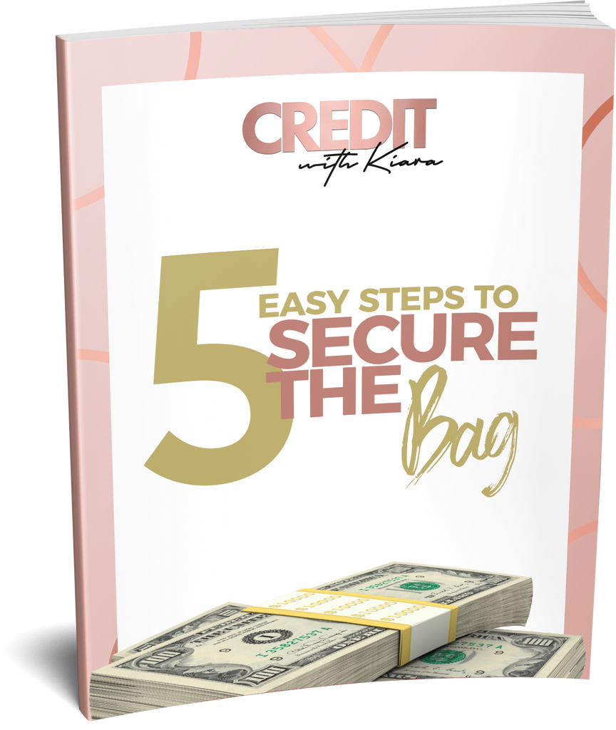 5 Easy Steps To Secure The Bag - Credit With Kiara