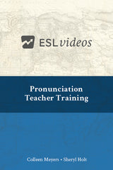Pronunciation Teacher Training Video
