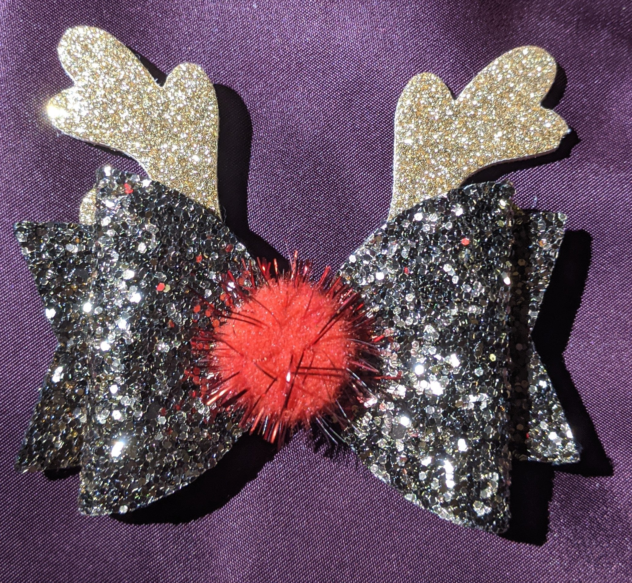 Red Nosed Reindeer Bow
