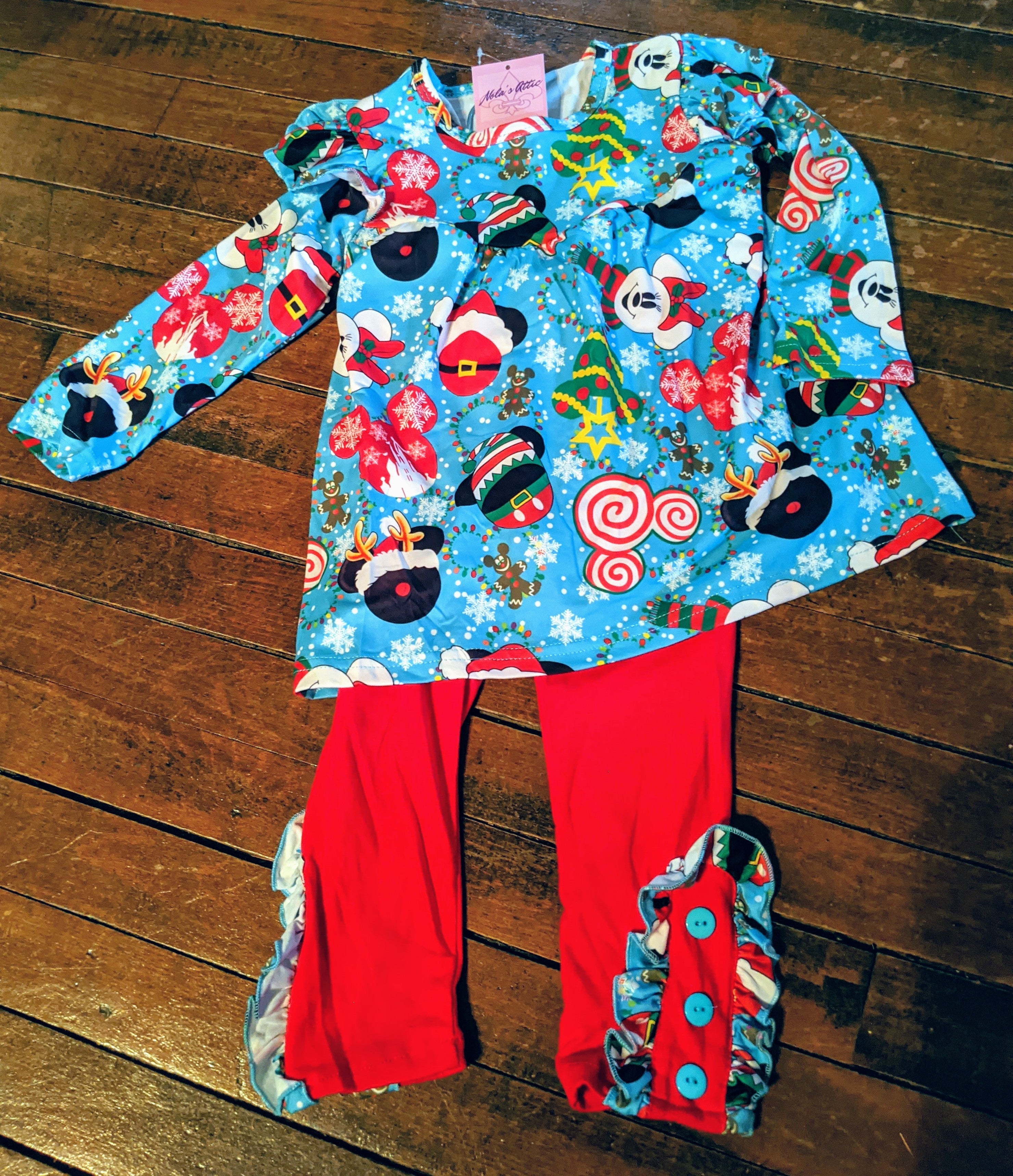 Disney-Inspired two piece Tunic and Pants