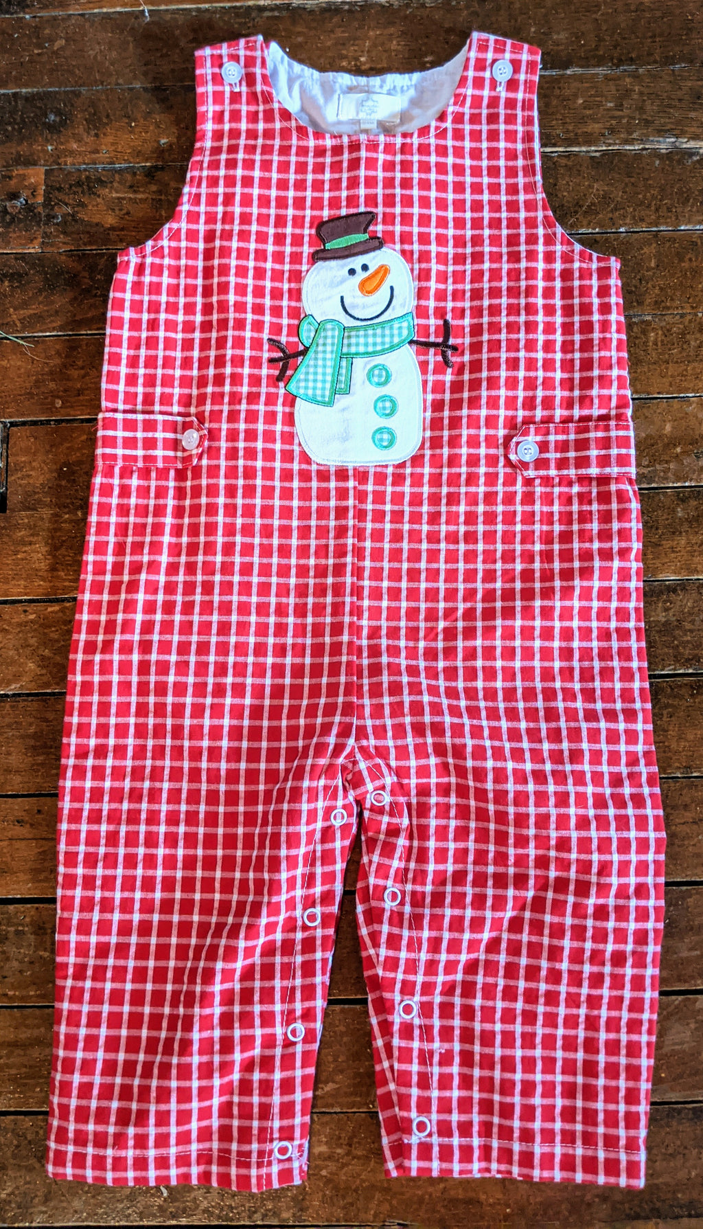 Snowman Overall