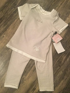 Bunnies by the Bay two piece set