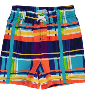 RuggedButts Summer Plaid Swim Trunks