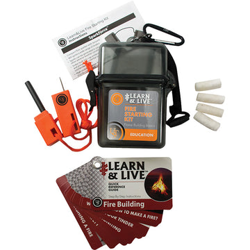 LEARN & LIVE - FIRE STARTING KIT