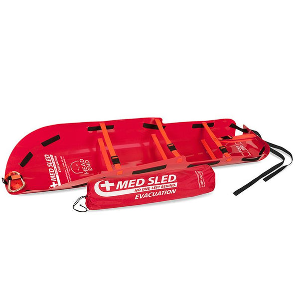 Chinook Medical Med Sled Patient Transport Sled - Red