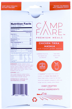 CampFare™ CHICKEN TIKKA MASALA WITH FRENCH GREEN LENTILS - 24 Pack Case
