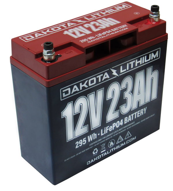 DAKOTA LITHIUM 12 V 23 Ah BATTERY