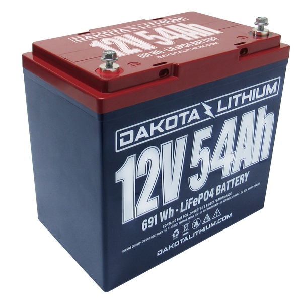 DAKOTA LITHIUM 12 V 54 Ah BATTERY