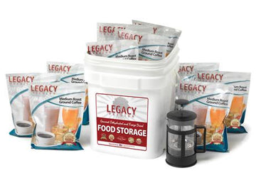 Legacy Premium 350 Serving Coffee Bucket with French Press
