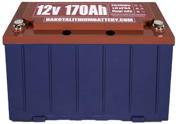 DAKOTA LITHIUM 12 V 170 Ah BATTERY
