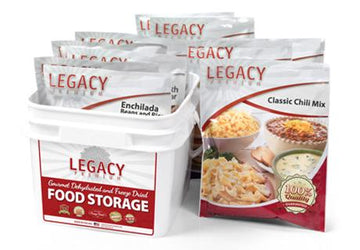 Legacy Premium 32 Serving Gluten Free 72 hour kit