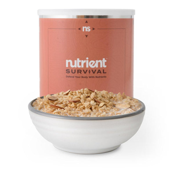 Nutrient Survival - MAPLE ALMOND GRAIN CRUNCH