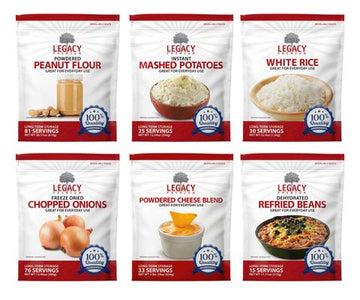 Legacy Premium Assorted Dehydrated Sides