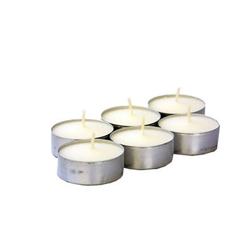 4-HOUR TEALIGHT CANDLES - 6 PACK