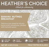 HEATHER'S CHOICE® BANANA NUTMEG BREAKFAST - 25 PACK CASE