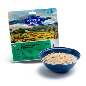 Backpacker's Pantry Organic Cinnamon Apple Oatmeal w/ Hemp and Quinoa