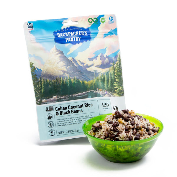 Backpacker's Pantry Cuban Coconut Rice & Black Beans