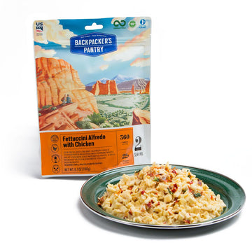 Backpacker's Pantry Fettuccini Alfredo w/ Chicken