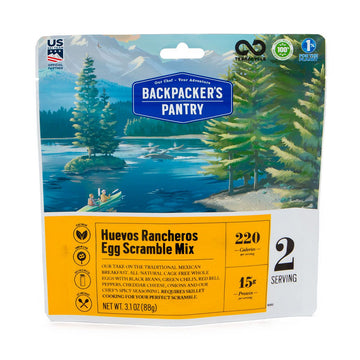 Backpacker's Pantry Huevos Rancheros Egg Mix (cage free)**