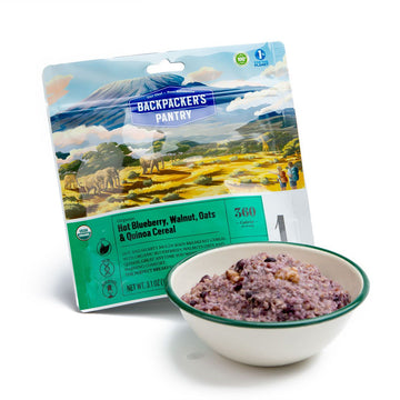 Backpacker's Pantry Organic Blueberry Walnut Oatmeal w/ Hemp and Quinoa