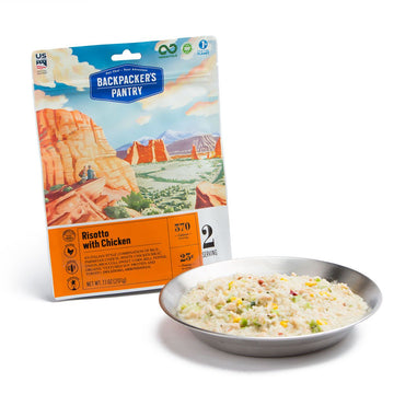 Backpacker's Pantry Risotto w/ Chicken