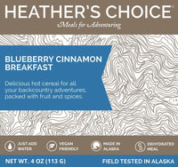 HEATHER'S CHOICE® BLUEBERRY CINNAMON BREAKFAST - 25 PACK CASE