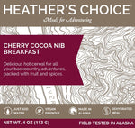 HEATHER'S CHOICE® CHERRY COCOA NIB BREAKFAST - 25 PACK CASE