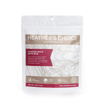 HEATHER'S CHOICE® ORGANIC CHICKEN MOLÉ WITH RICE - 25 PACK CASE