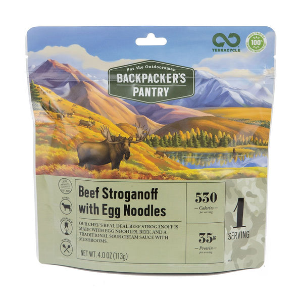Backpacker's Pantry Beef Stroganoff
