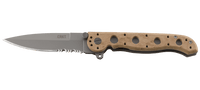CRKT M16® - 13ZM DESERT SPEAR POINT WITH TRIPLE POINT™ SERRATIONS