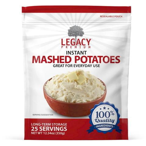Image of 25 serving instant mashed potatoes pouch
