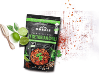 OMEALS VEGETARIAN CHILI - 24 PACK CASE