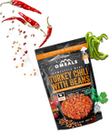 OMEALS TURKEY CHILI WITH BEANS - 24 PACK CASE