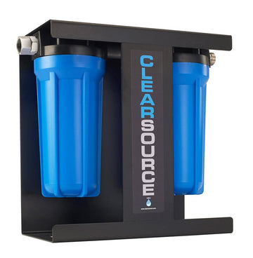 CLEARSOURCE TWO STAGE WATER FILTRATION SYSTEM