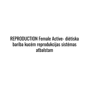 Reproduction FEMALE Active