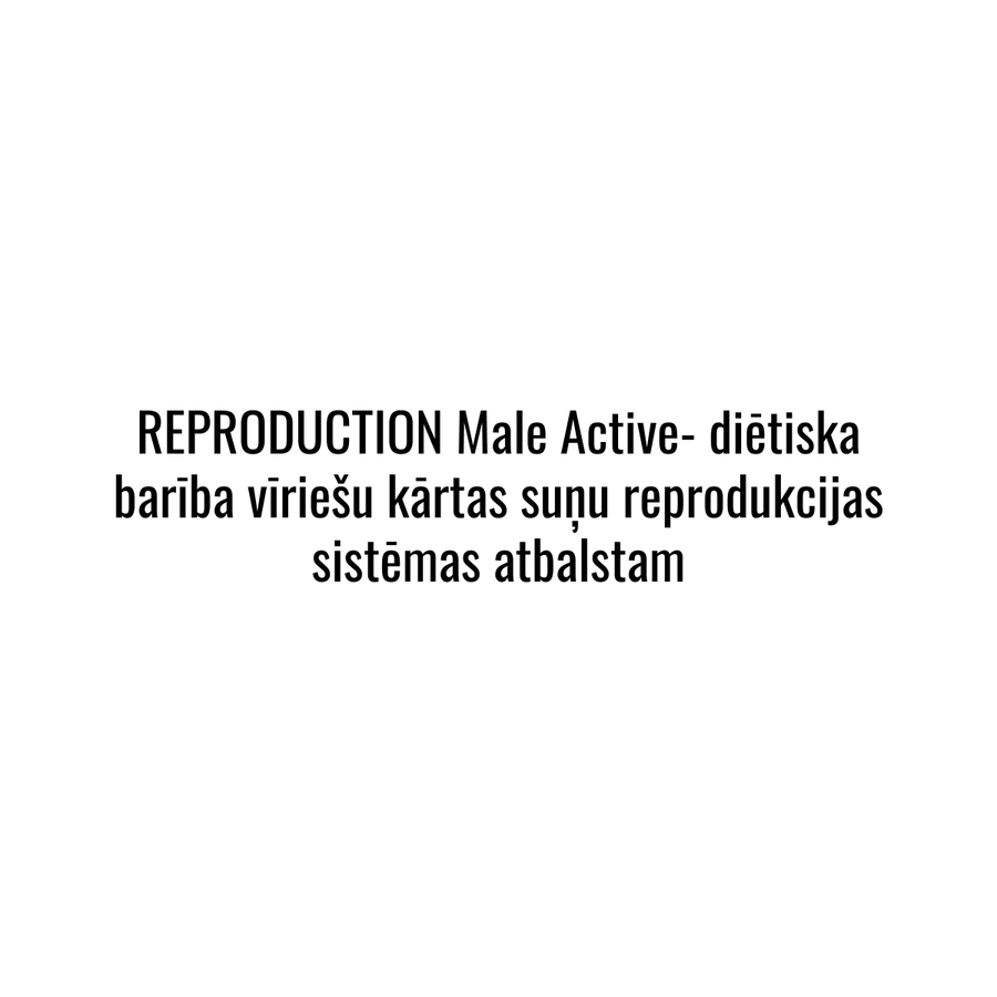 Reproduction MALE Active