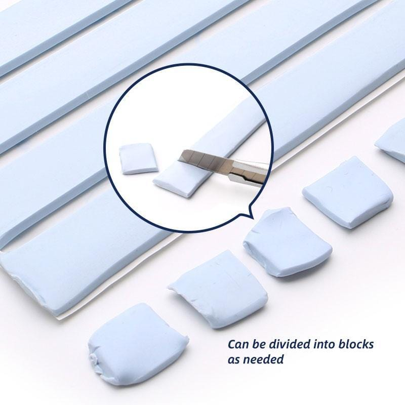 Reusable Adhesive Blu-Tack (4 Strips / Pcs)