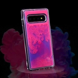 Quicksand Fluorescent Mobile Phone Case for Samsung Series