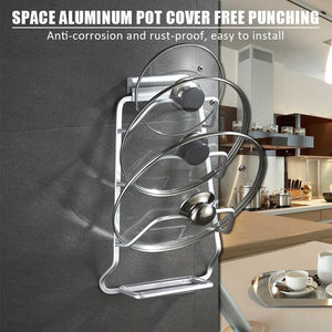 Space Aluminum Pot Cover Free Punching