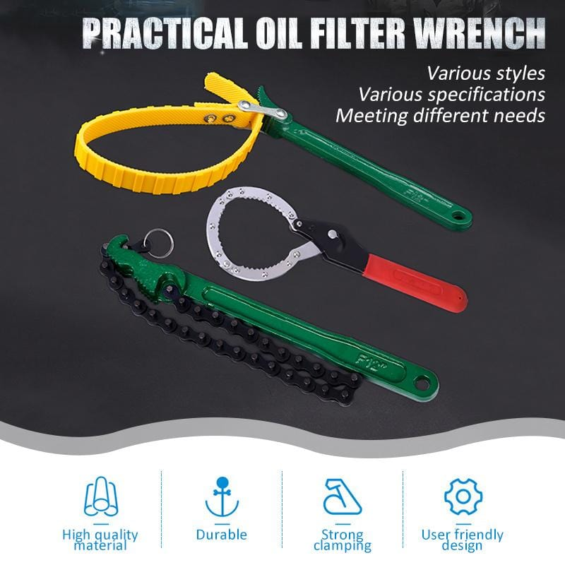 Practical Oil Filter Wrench