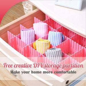 Free Creative DIY Storage Partition