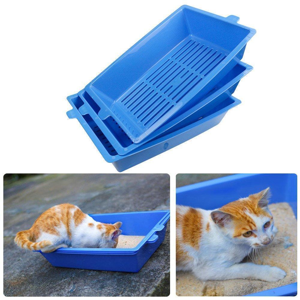 Cat Litter Trays(3PCS)